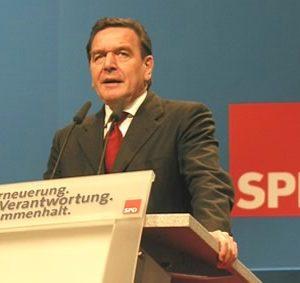 Grundsatzrede Gerhard Schröder auf dem Bundesparteitag in Nürnberg am 19.11.2001