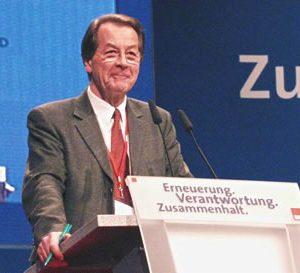 Wahl von Franz Müntefering, Bundesparteitag 19.11.2001