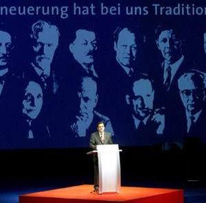 Rede von Gerhard Schröder zum Festakt 140 Jahre SPD am 23. 05. 03