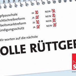 Plakatmotiv: Rolle Rüttgers