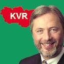 Fritz Behrens Collage vor KVR-Logo