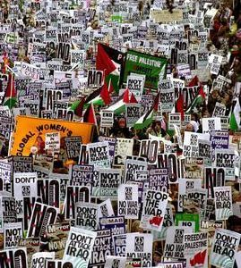 Friedensdemonstration am 15. 02. 03 in London