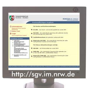 Erste vollelektronische Sammlung aller Erlässe in NRW