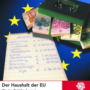 Titelblatt Thema Europa: Der Haushalt der EU.
