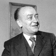 Porträtfoto vonFritz Steinhoff in schwarz-weiß