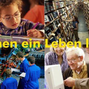 Collage zum Bildungspolitischen Kongress am 30. 11. 02