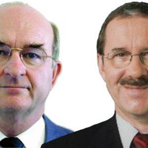 Walter Haas und Harald Schartau