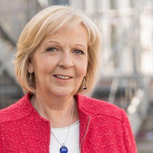 Porträtfoto von Hannelore Kraft