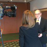Andre Stinka bei einem Interview mit RTL/n-tv