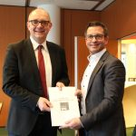 Andre Stinka und Marc Herter halten gemeinsam den NRW-Plan