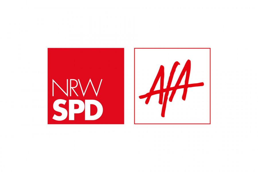 Logo NRWSPD Arbeitsgemeinschaft für Arbeitnehmerfragen