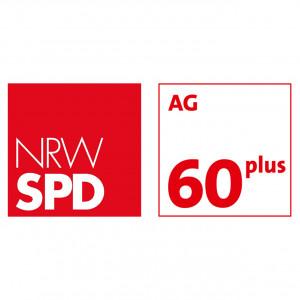Logo NRWSPD Arbeitsgemeinschaft 60 plus