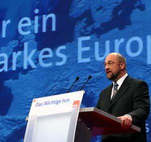 Rede von Martin Schulz während der Europadelegiertenkoferenz am 16. 11. 03 in Bochum