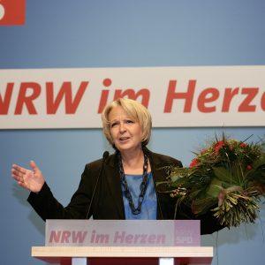 Hannelore Kraft, Landesvorsitzende der NRWSPD