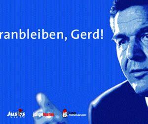 Banner Dranbleiben Gerd