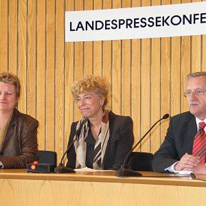 Silvia Löhrmann, Gesine Schwan , Edgar Moron