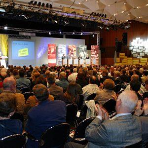 Volles Haus beim Kommunalkonvent der NRWSPD