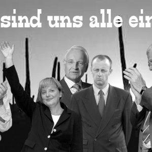 Die Union: Uneinigkeit als Politikersatz
