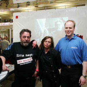 """Die Red Onliner und ihr Video """"Erna sagt: Geh wählen!"""""""