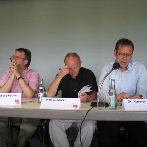Dr. Hans-Georg Bögner, Kurt Eichler, Dr. Karsten Rudolph