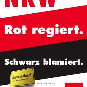 NRW. Rot regiert. Schwarz blamiert.