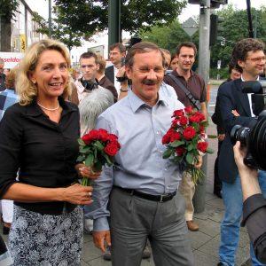 Gudrn Hoch und Harald Schartau