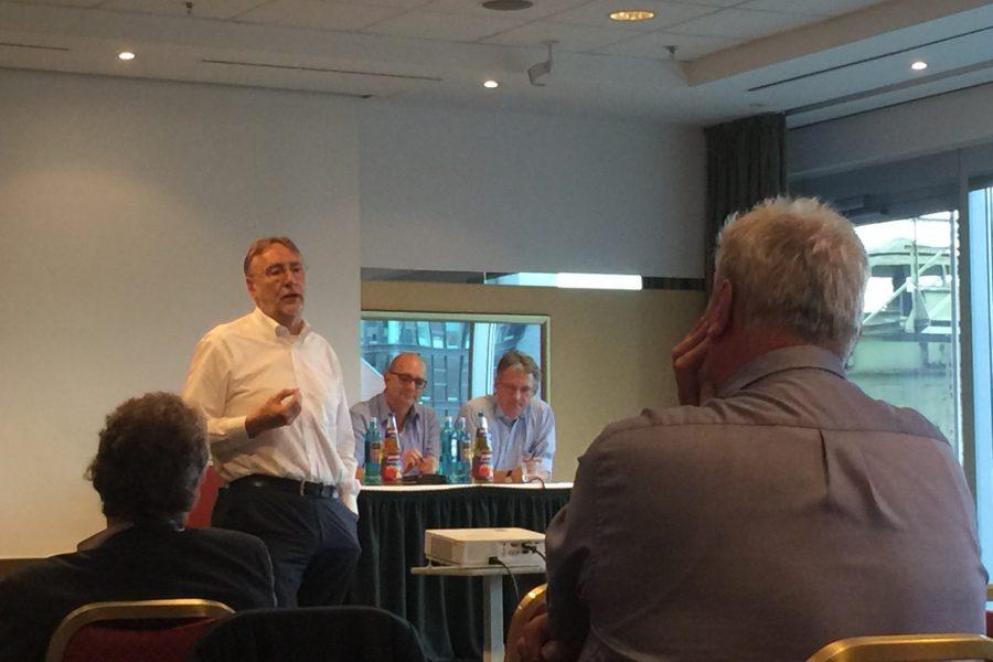 Bernd Lange bei seiner Rede