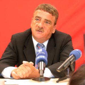 Pressekonferenz mit Michael Groschek am 06. 08. 02