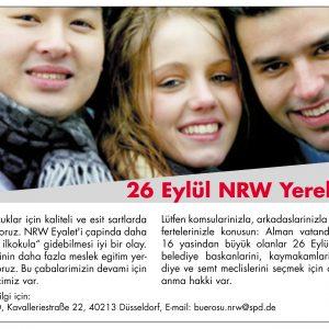 26 Eylül NRW Yerel Seçimleri