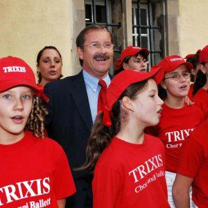 """Harald Schartau und die """"Trixis"""""""