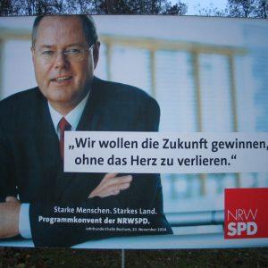 Programmkonvent der NRWSPD in Bochum: Plakat