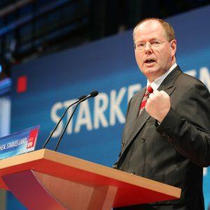 Rede von Peer Steinbrück auf dem Programmkonvent der NRWSPD