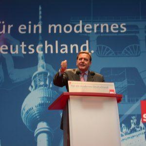 Rede von Gerhard Schröder in Düsseldorf am 04. 09. 02