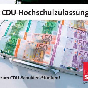 CDU-Schuldenstudium