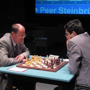 Schachpartie Steinbrück-Kramnik