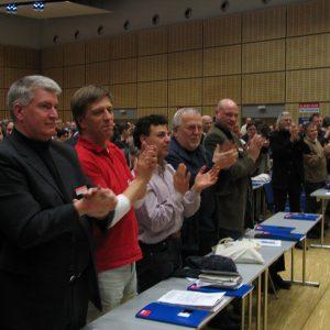 Applaus für Peer Steinbrück