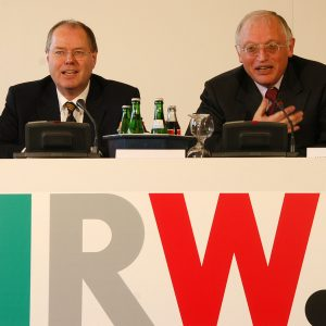 Peer Steinbrück und Günter Verheugen