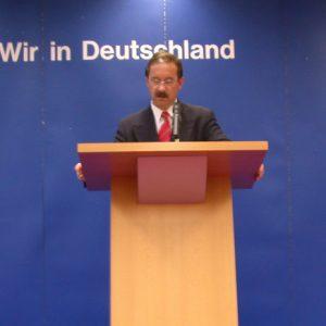 Rede von Harald Schartau am 22. 09. 02