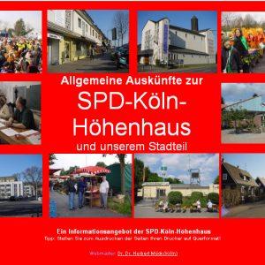 Der Internetauftritt des Ortsvereins Köln-Höhenhaus
