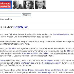 SoziWiki Homepage