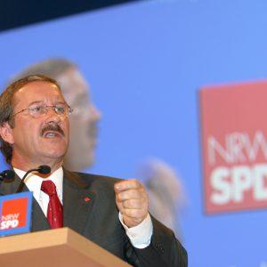 Rede von Harald Schartau während des Landesparteitages am 02. 11. 02