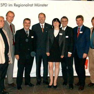 Gruppenbild Regionaltreffen Münster am 25. 10. 02
