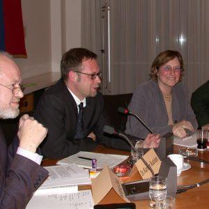 Wolfgang Chadt, Karsten Rudolph und Gisela Gebauer-Nehring