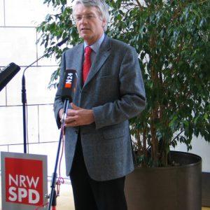 Jochen Dieckmann zum Rücktritt von Matthias Platzeck