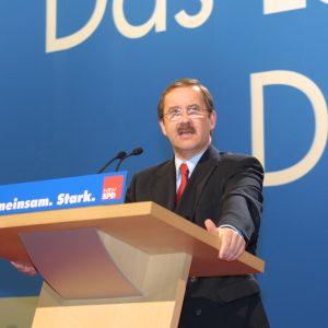 Rede von Harald Schartau während der Landesdeligiertenkonferenz am 16. 03. 02 in Düsseldorf
