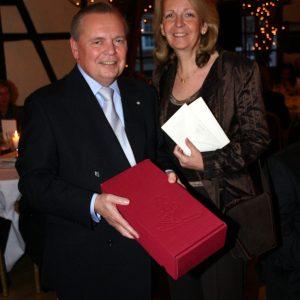 Hannelore Kraft gratuliert Ulrich Schmidt