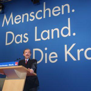 Rede von Harald Schartau während der Landesdelegiertenkonferenz am 16. 03. 02 in Düsseldorf