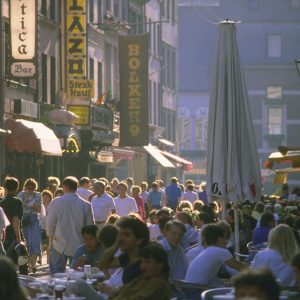 Die Düsseldorfer Altstadt