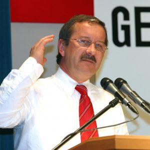 Rede von Harald Schartau während der Gelsenkirchener Gespräche am 28. 03. 03