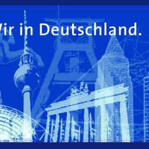 Banner: Wir in Deutschland.